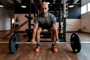 Krafttraining mit Gewichten